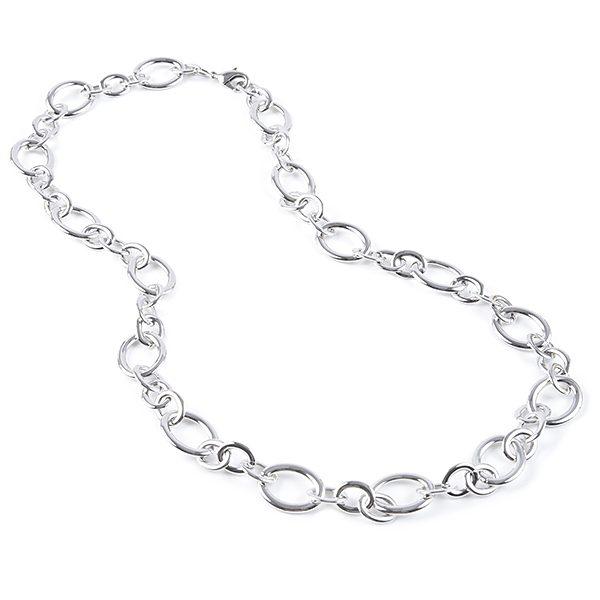 Rhodium Plated Silver