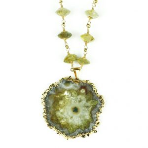Stalactite / Rutilated Quartz