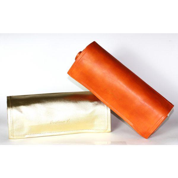 Gold & Orange Jewelry Rolls