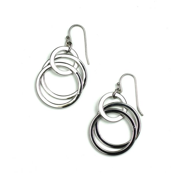 Rhodium finished Sterling Silver