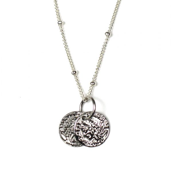 Simple Disc Necklace-1869
