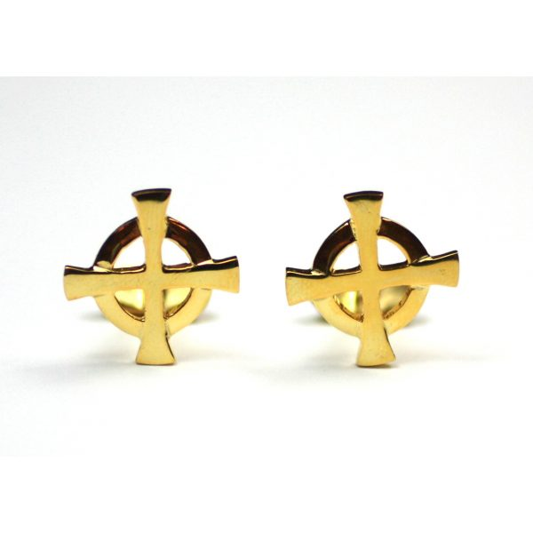 Gold Plated Cuff Links