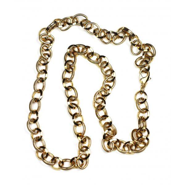 Long Circle Link Chain-2060