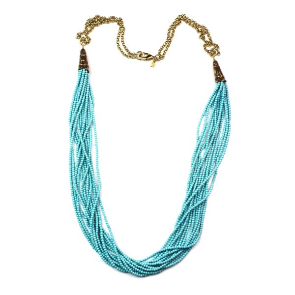 Turquoise / Gold