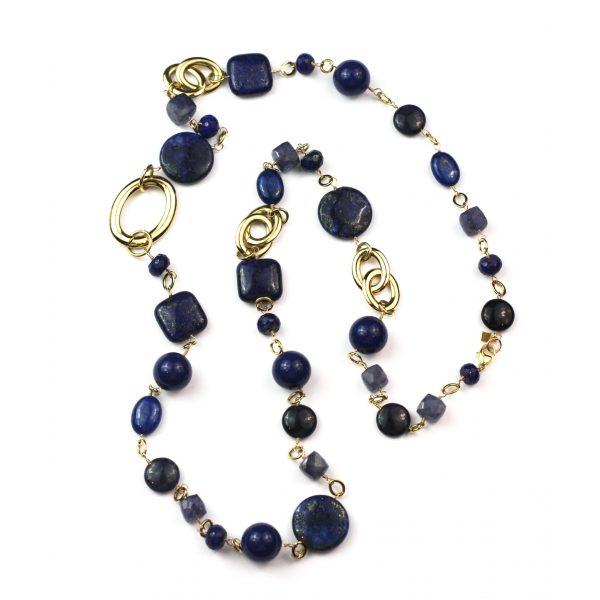 Navy Lapis Lazuli