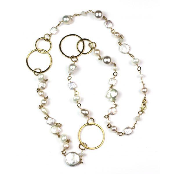White Baroque Pearl