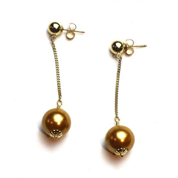 Swarovski Pearl Earrings-0