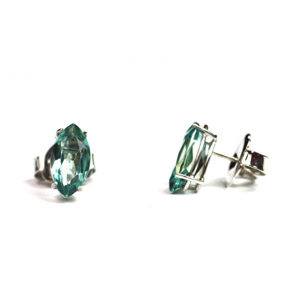 Topaz Marquis Serena Stud Earrings-0