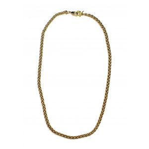Short Rope Chain Necklace-0