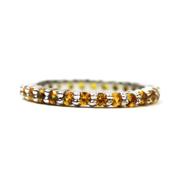 Solitaire Stack Rings-3382