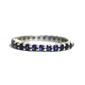 Solitaire Stack Rings-0