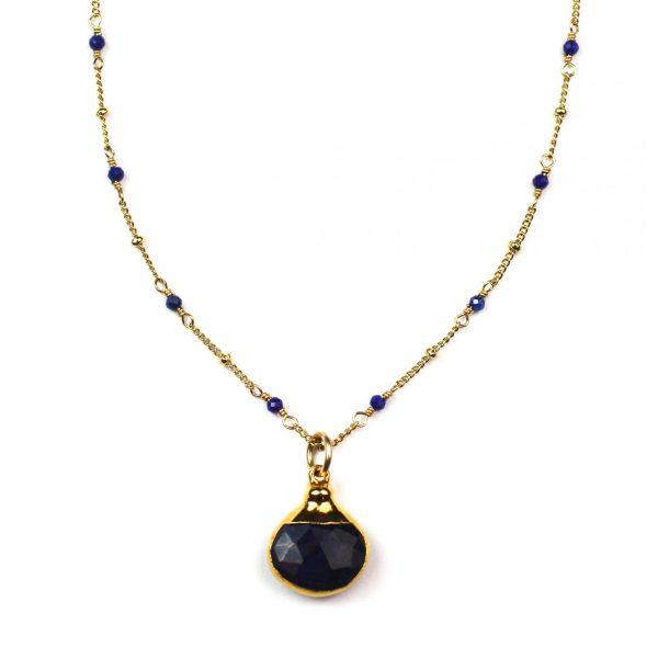 Navy / Lapis Lazuli Pendant