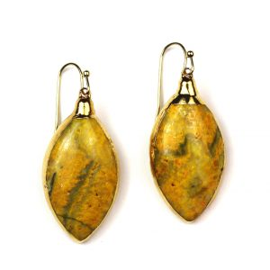 Bumble Bee Jasper Earrings-0