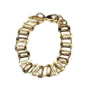 Pearl Chain Bracelet-0