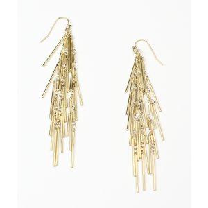 Triple Spike Chain Earrings-0