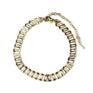 Pearl Chain Choker-0