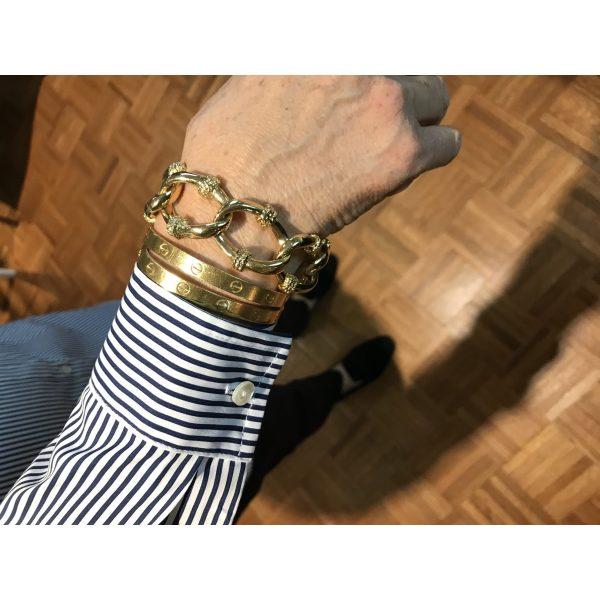 Cristina Chain Link Bracelet-3950