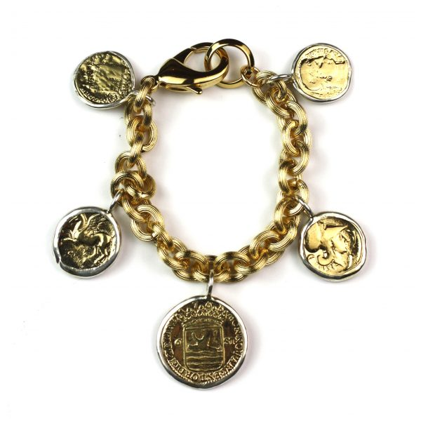 Coin Charm Bracelet-0