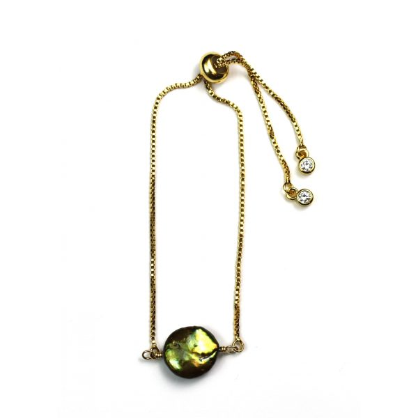 Olive Coin Pearl