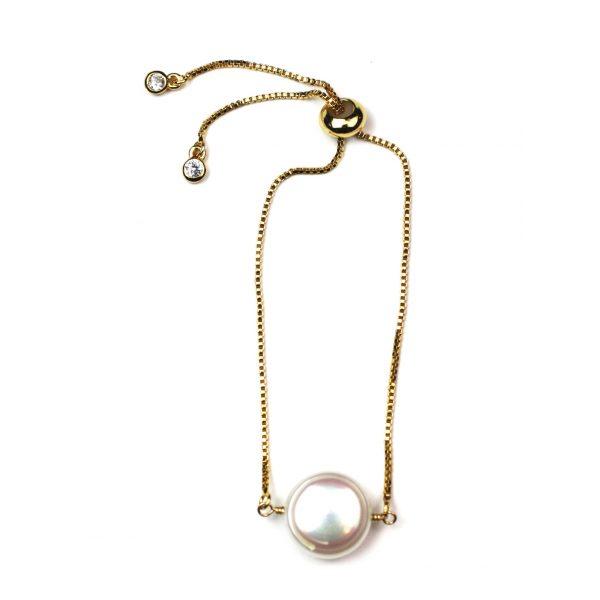 White Coin Pearl