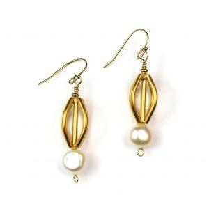 Orb Pearl Earrings-0