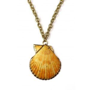 "21"" Mango Shell Necklace-0"