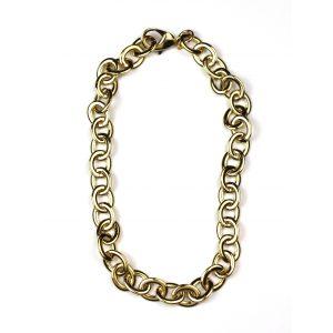 Short Petite Link Chain Necklace-0