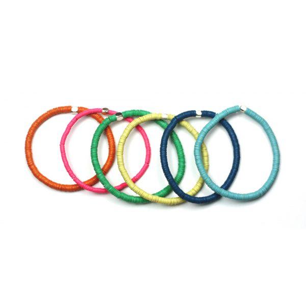 4MM Colorful Stretch Bracelets-4280
