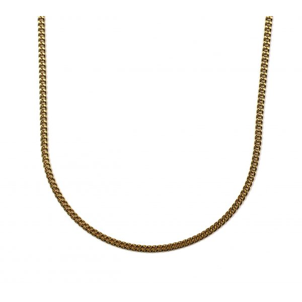 Simple Cable Chain Necklace-0