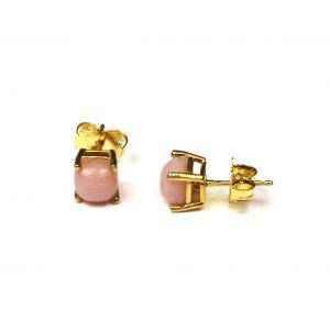 Pink Baby Serena Stud Earrings-0