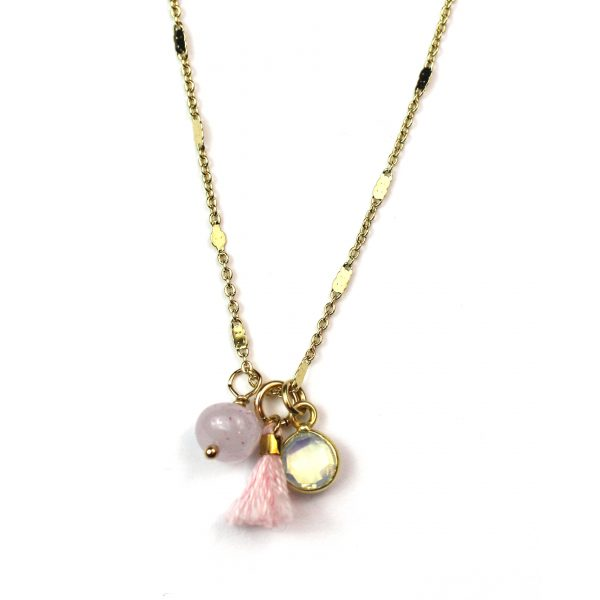 Pink (Opal and Chalcedony)