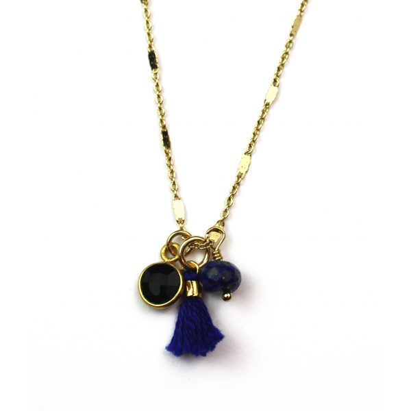 Navy (Lapis Lazuli and Black Spinel)