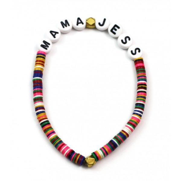 4MM Kids Colorful Name Bracelet-4561