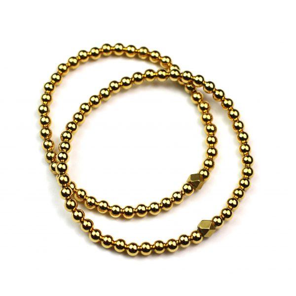 3MM Ball Stretch Bracelet-4195