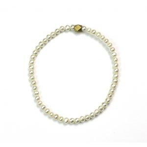 4MM Pearl Stretch Bracelet-0