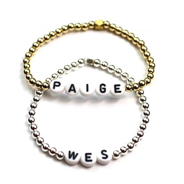 Kids Ball Name Bracelet -4497