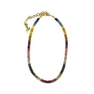 Sapphire Choker Necklace-0