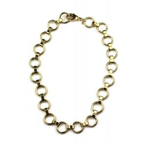 Circle Chain Necklace-0