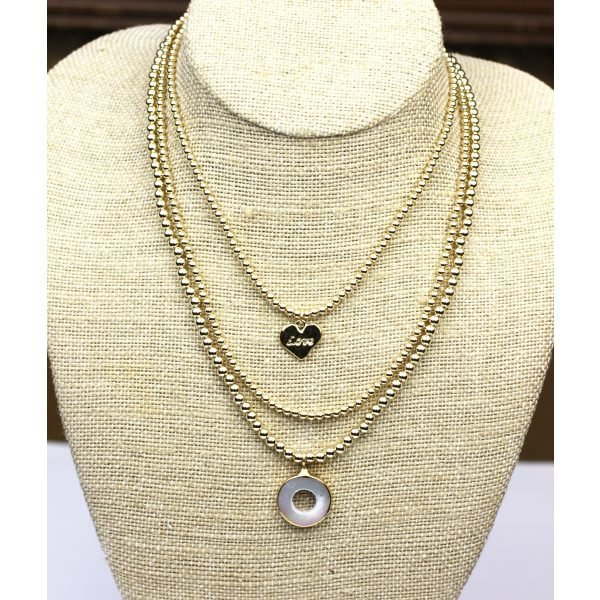 4MM Adjustable Mother of Pearl Necklace-4800