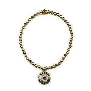 Evil Eye Ball Bracelet-0
