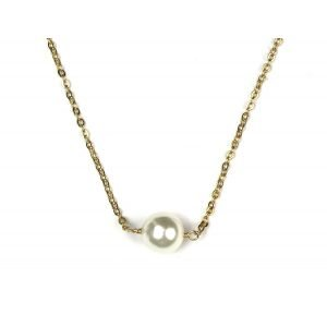 Delicate Pearl Necklace-0