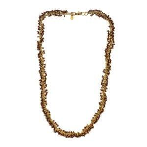 Raspberry Dangle Necklace-0