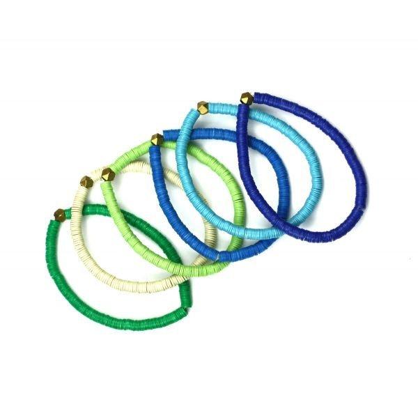 4MM Kids Colorful Stretch Bracelets-4987