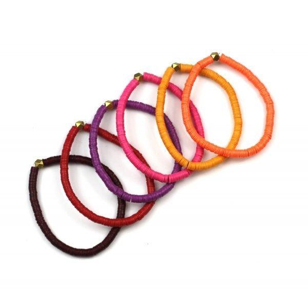 4MM Kids Colorful Stretch Bracelets-4986