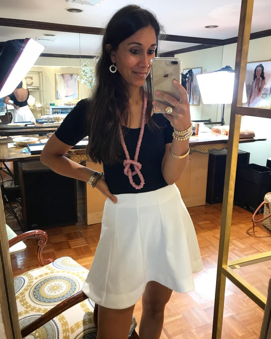 Cristina V with Phone