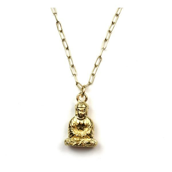 Buddha Charm Necklace-0
