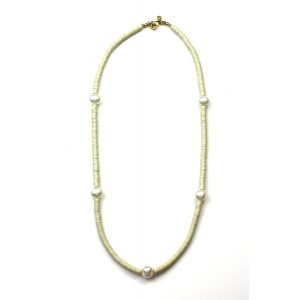 "18"" Pearl Layer Necklace-0"
